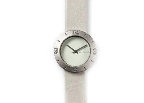NAVA DESIGN Uhr Slice Numbers White Unisex O490 W