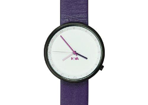 Nava Unisex Armbanduhr Analog Quarz Violett O450TW