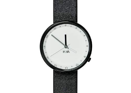 Nava Unisex-Armbanduhr Analog Quarz Schwarz O450CL
