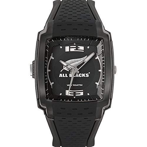 All Blacks Herren-Armbanduhr Analog Quarz Schwarz 680135