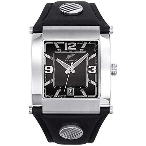 All Blacks Herren-Armbanduhr Analog Quarz Schwarz 680001