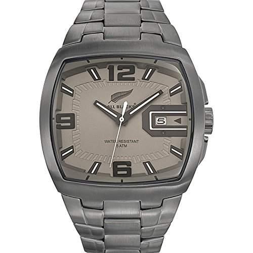All Blacks Herren-Armbanduhr 680118 Analog Quarz Grau 680118