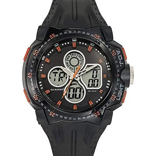 All Blacks Herren-Armbanduhr 680126 Quarz Schwarz 680126