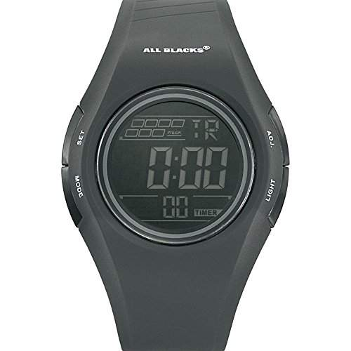 All Blacks Herren-Armbanduhr Digital Quarz Schwarz 680152