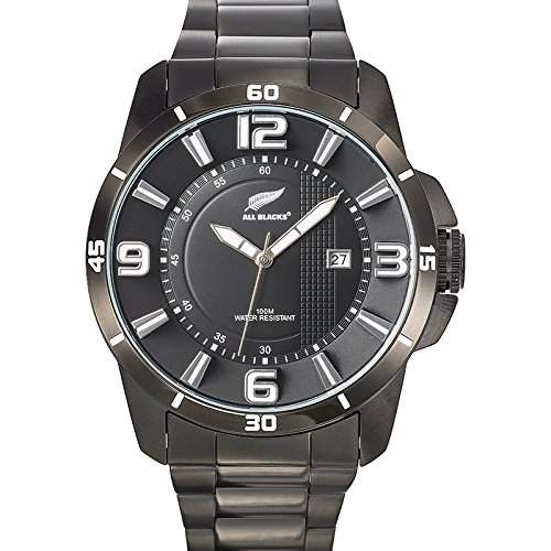 All Blacks Herren-Armbanduhr 680187 Analog Quarz Schwarz 680187
