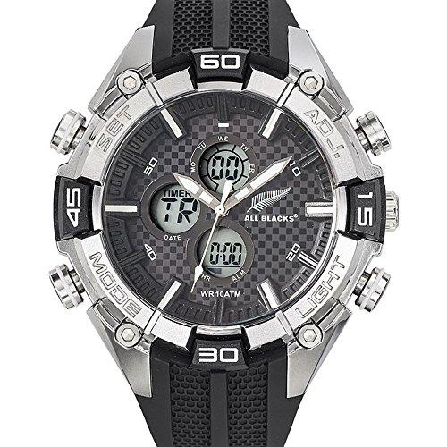 All Blacks Herren Armbanduhr Analog Quarz Kunststoff 680225