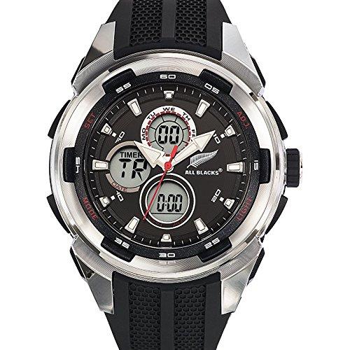 All Blacks Herren Armbanduhr Analog Quarz Kunststoff 680202