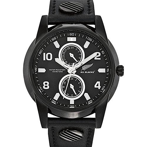 All Blacks Herren Armbanduhr Analog Quarz Schwarz 680102