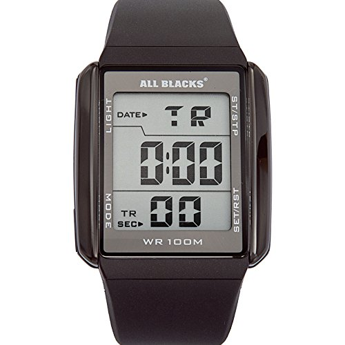 All Blacks Digital Quarz Silikon 680034
