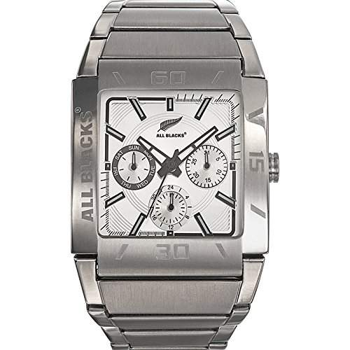 All Blacks Herren-Armbanduhr 680183 Chronograph Quarz Grau 680183