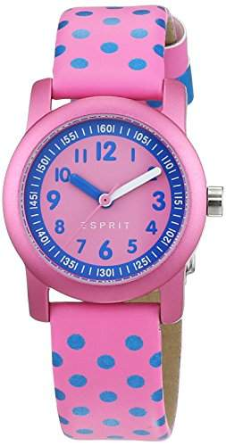 Esprit Maedchen-Armbanduhr Analog Quarz Leder ES000FA4036