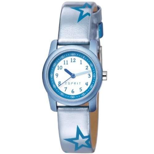 Esprit Maedchen-Armbanduhr Analog Quarz Leder ES000FA4039
