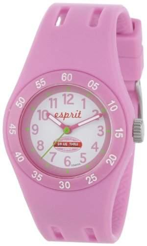 Esprit Maedchen-Armbanduhr Analog Quarz Plastik ES103464006