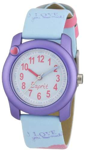 Esprit Maedchen-Armbanduhr little heart Analog Plastik AES105284005