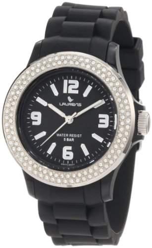 LAURENS Damen-Armbanduhr Schwarz GW70J900Y