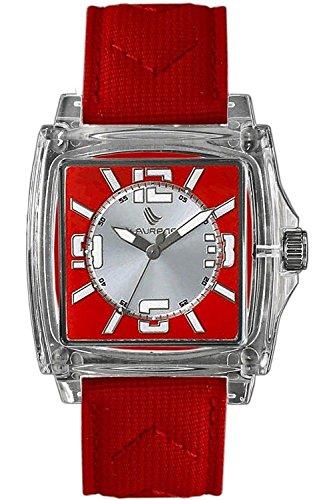 Laurens Unisex Armbanduhr Analog Quarz Rot 025828CC