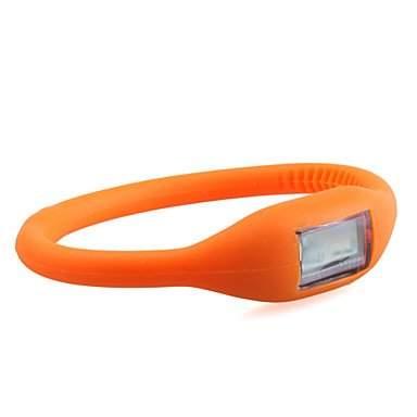 Sweet Lady Digital Uhr Orange E7-9