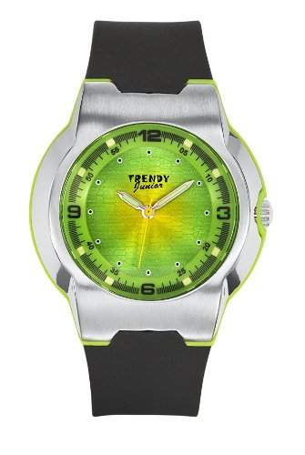 Trendy Junior 251 KL-Jungen-Armbanduhr Alyce Quarz analog Kunststoff Schwarz
