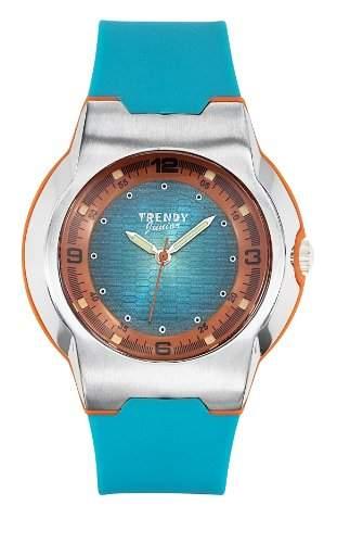 Trendy Junior 253 KL-Jungen-Armbanduhr Alyce Quarz analog, Zifferblatt Analog Kunststoff Blau