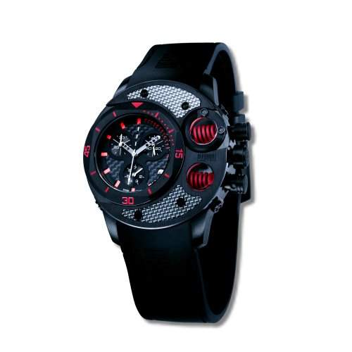 Offshore Limited Herren-Armbanduhr XL Commando Chronograph Silikon 003 B