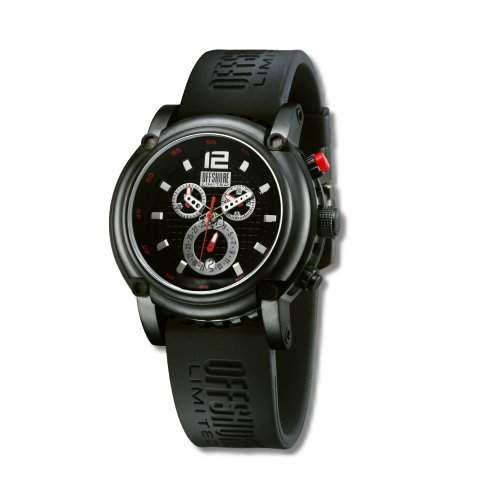Offshore Limited Herren-Armbanduhr XL Ballast Chronograph Silikon 004 C