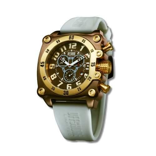 Offshore Limited Herren-Armbanduhr XL Z Drive Chronograph Silikon 007 C