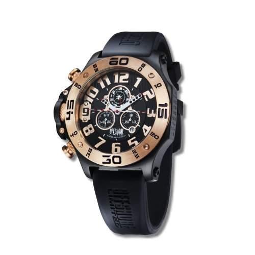 Offshore Limited Herren-Armbanduhr XL Tornade Chronograph Silikon 009 C