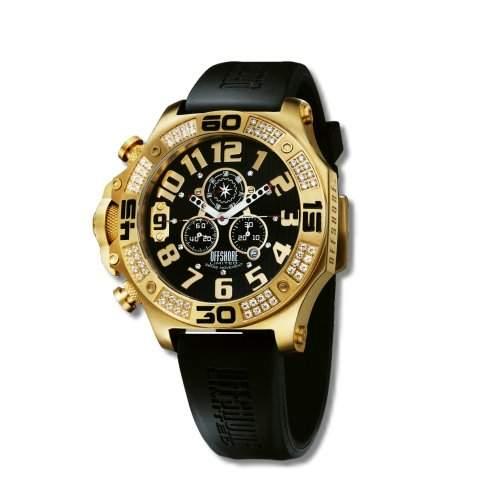 Offshore Limited Herren-Armbanduhr XL Tornade Prestige Chronograph Silikon 009 PR I