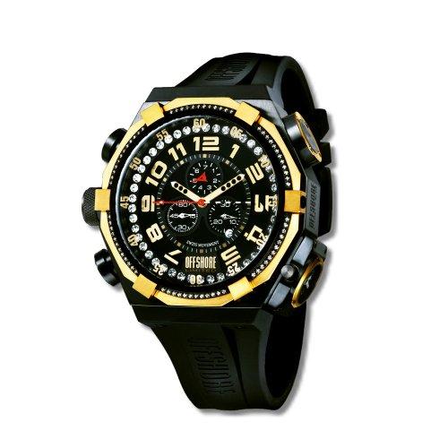 Offshore Limited Herren Armbanduhr XL Force 4 Prestige Chronograph Silikon 001 PR G