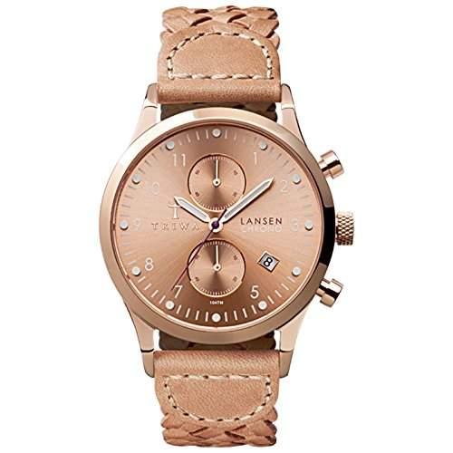 Triwa Rose Lansen Chrono Armbanduhr Tan LCST104BD01