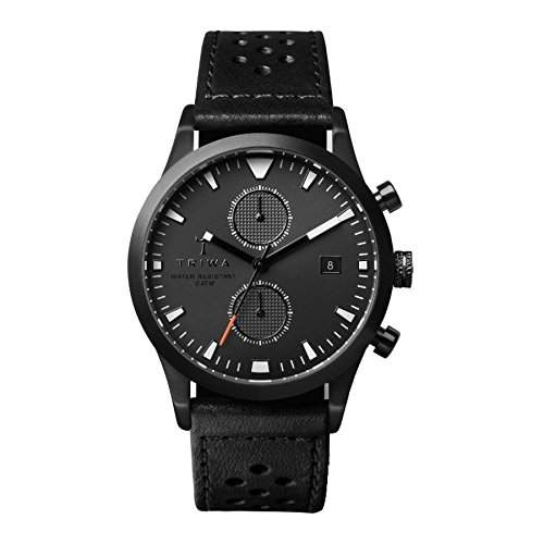 TRIWA Sort of Black Glow Chrono Armbanduhr schwarz LCST112_CR010113