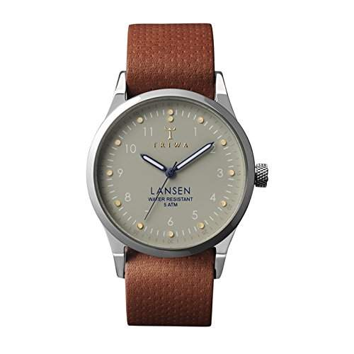 Triwa Dawn Lansen Watch - Brown Dots Mono