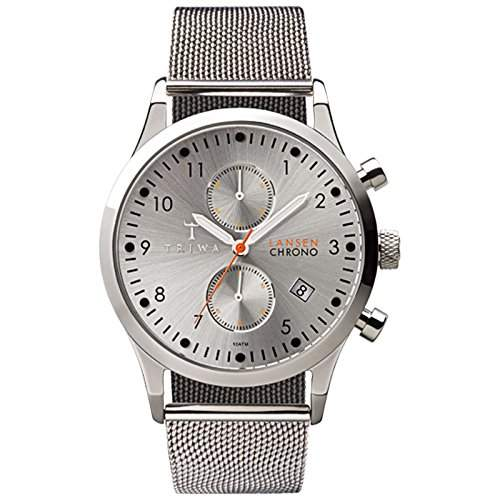TRIWA Stirling Lansen Chrono Armbanduhr silber LCST102_ME021212