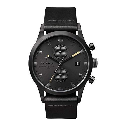 TRIWA Sort Of Black Chrono Armbanduhr schwarz LCST105_CL010113