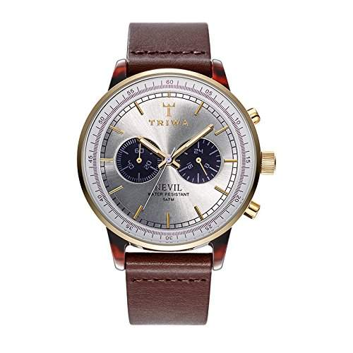 Triwa Nevil Watch - Blue FaceBrown
