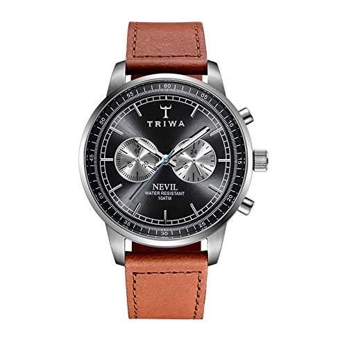 TRIWA Ash Nevil Armbanduhr orangebraungrau NEST110_SC010212