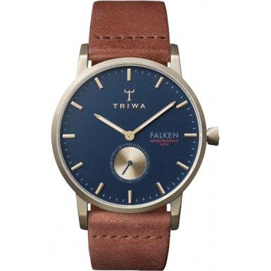 TRIWA Loch Falken Armbanduhr braun grau blau FAST104 CL010217