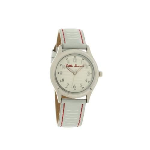 Little Marcel-LM45SLC3-Lm45Damen-Armbanduhr 045J699Analog mehrfarbig-Armband Leder zweifarbig
