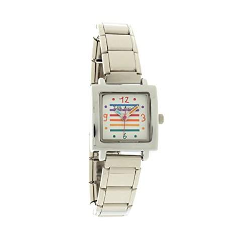 Little Marcel Damen-Armbanduhr LM08 S METAL Analog Quarz Metall LM08WTMS