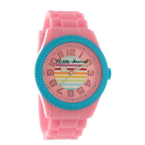 Little Marcel Damen-Armbanduhr LM38 Analog Quarz Rosa LM38PKSN