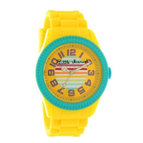 Little Marcel Damen-Armbanduhr LM38 Analog Quarz Gelb LM38YLSN