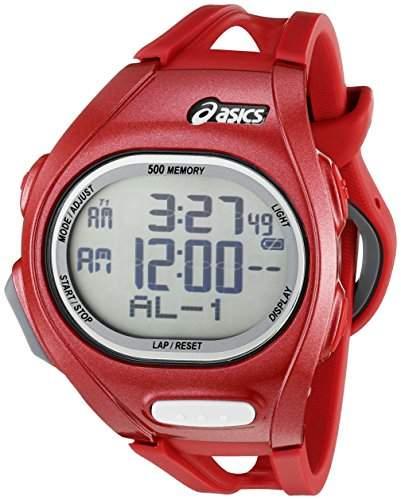Asics Unisex-Armbanduhr DIGITAL SPORTSWATCH ELITE L alamdinrot Digital Plastik CQAR0203