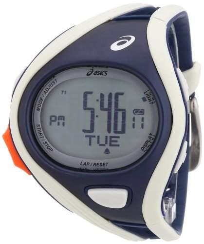 Asics Unisex-Armbanduhr DIGITAL SPORTWATCH CHALLENGE S graudunkelblau Digital Plastik CQAR0303