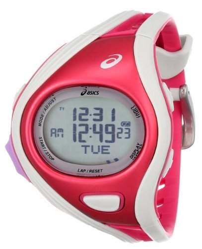 Asics Unisex CQAR0311 Challenge Regular Red White Digital Running Uhr