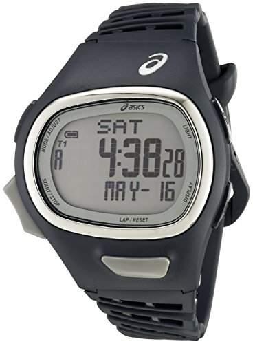 Asics Herren CQAR0602 Digital Display Quartz Blue Armbanduhr