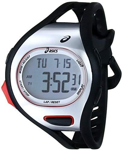 Asics Herren CQAR0701 Digital Display Quartz Black Armbanduhr