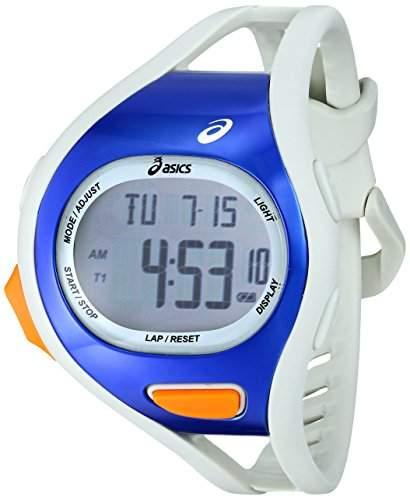Asics Herren CQAR0703 Digital Display Quartz White Armbanduhr