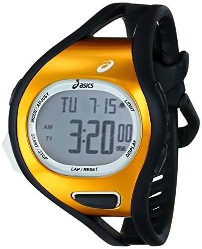 Asics Herren CQAR0705 Digital Display Quartz Black Armbanduhr