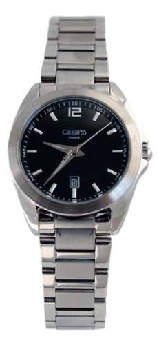 Waooh - Casar55 Uhr Z632G Kleine Groesse Silber