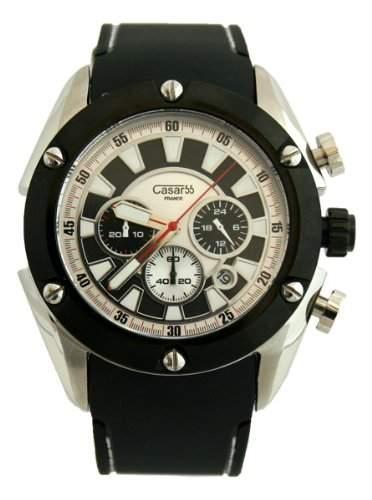 Waooh - Casar55 Uhr V768G Schwarz